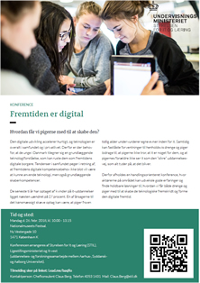 Fremtiden er digital - invitation